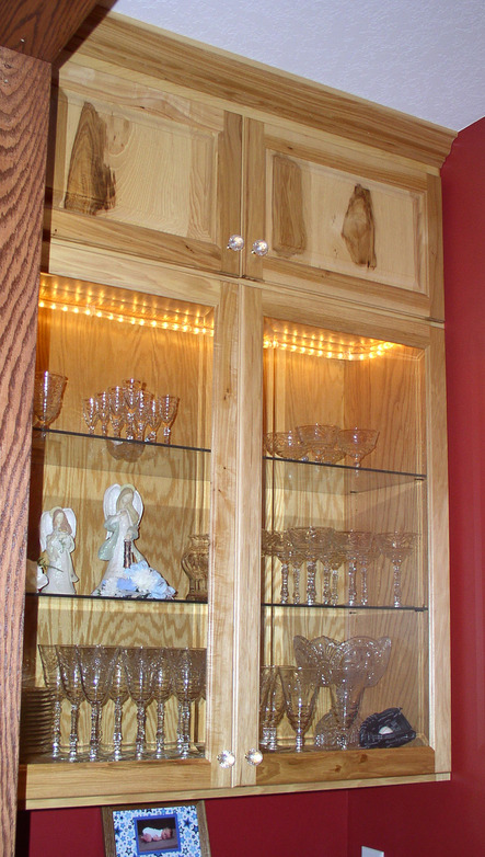Hickory cabinets